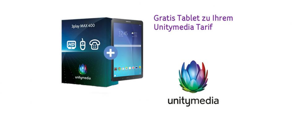 Gratis Tablet bei Unitymedia! Jetzt zugreifen!!