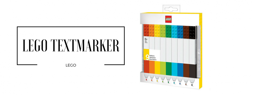 LEGO Textmarker